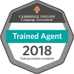 Cambridge trained agent 2018